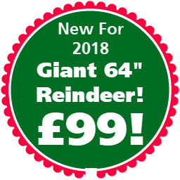 Giant Wicker Xmas Reindeer Offer