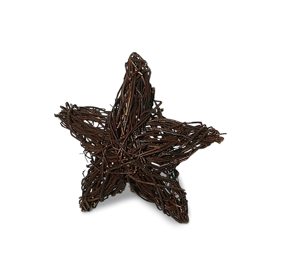 Wicker Xmas Star