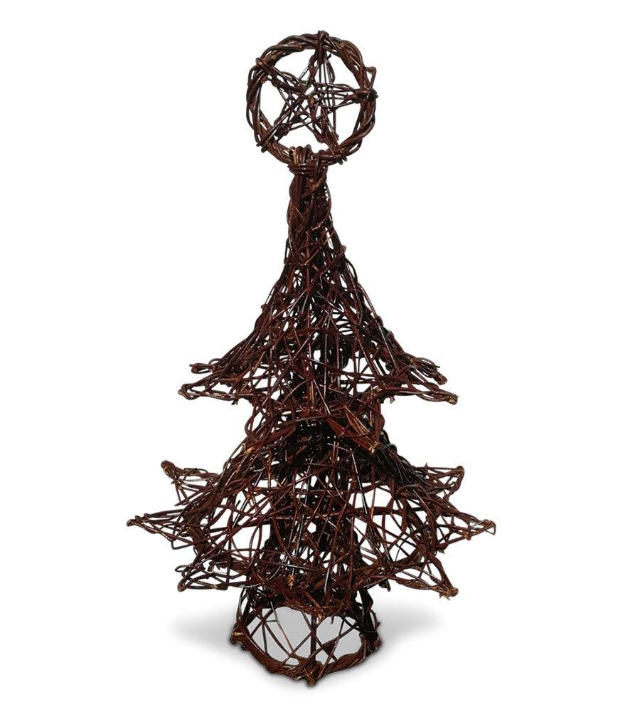 Wicker Christmas Tree